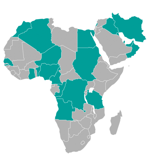 Kde působíme v Africe